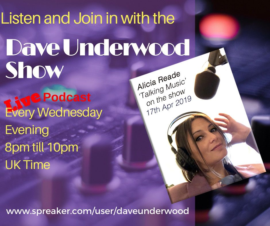 Alicia Reade on the Dave Underwood show 17-4-19